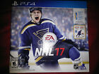 PS4 NHL 17  Game Bundle w/ Figurine |BRAND NEW FACTORY SEALED Playstation 4