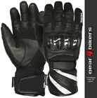 SALE Weise Oslo SMALL Mesh Leather Short Waterproof Motorcycle Glove Gloves S