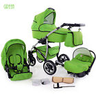 Buggy Pram Stroller Pushchair 3in1 Car Seat Carrycot Travel System Buggy   <br/> FORWARD&amp;REAR FACING MODE,Rain Cover,Mosquito Net &amp; MORE