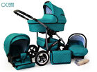 Buggy Pram Stroller Pushchair 3in1 Car Seat Carrycot Travel System Buggy