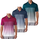 Adidas Golf 2017 Mens Climachill Gradient Stripe Polo Shirt Breathable