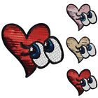Cute Sequins Embroidered Iron Sew On Patch Badge Bag Hat Jeans Fabric Applique