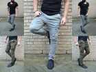 YOUNG MODE Wild Rebell UK Fashion Herren Hose Skinny Fit Cargo Jeans