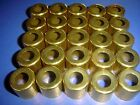 """25- Large Brass Ferrules for Lathe Tool Handles 1"""" X 7/8"""" Long FREE SHIPPING!"""