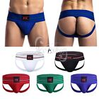 Men's Athletic Supporter Jock Strap Sports Lace Up Briefs Thong Shorts Underwear