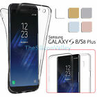 For Samsung Galaxy S8 /S8 Plus Crystal Clear TPU Cover Full Body Protective Case