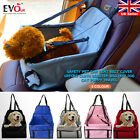 Oxford Cloth Booster Bag Safety Pet Car Seat Belt Cover Mat Dog Cat Puppy Travel