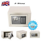 DIGITAL STEEL SAFE ELECTRONIC SECURITY HOME OFFICE MONEY CASH FILE SAFETY BOX B