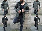 Rebel Style Destroyed Assassin Biker Long Fashion Jacket Street Ghetto Army