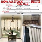 CHIC Spring Loaded Tension Curtain Rod Rail Pole Extendable Telescopic Hanger AU