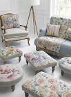 Voyage Maison Fabric Capella Wool Foot Stool Collection Various Style In Stock!