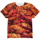 Louisiana Crawfish Boil All Over Youth T Shirt