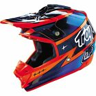 NEW 2016 TROY LEE DESIGNS SE3 TEAM MX DIRT BIKE OFFROAD HELMET NAVY/ORG ALL SIZE