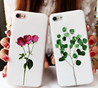 Rubber Soft TPU Silicone Pattern Phone Case Cover For Apple iPhone 6 6s 7 Plus