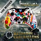 Xbox One/S Sticker Bomb Arb 4 Rapid Fire 4 Carbon Paddle Controller BF-IW-GOW