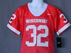 Wisconsin Badgers #32 Football Jersey BOYS Kids 5 NCAA NEW Red Nike