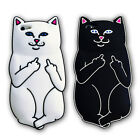 RIPNDIP Pocket Cat Silicone Rubber Phone Case Cover For  iPhone 5 5s 6 6s 7 plus
