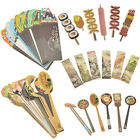 30 Pc Japanese Style Creative Food Paper Bookmark School Supplies Stationery Set