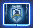 San Diego Chargers 50th Anniversary 1960 - 2009 Brand New Neon Light Sign $43.98 USD