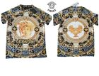 MEN VERSACE T-SHIRT SHORT SLEEVE MULTI-COLOR FREE SHIPPING SIZES S M L XL XXL