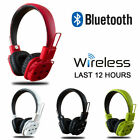 Wireless Stereo Bluetooth 4.1 Headphone Headset Earphone For iPhone Samsung