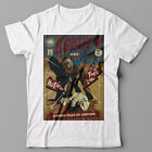 Funny cool T-shirt - Beauty and Wookie wooky - Star Wars poster parody, jedi $24.95 AUD