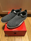 Nike Men's Air Moc Tech Fleece Sneakers Slip-On Size 8 Gray 834591-001 GUCIB