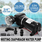 12V 3 4??Port Size Misting Diaphragm Water Pump Garden Booster Car Sprayer