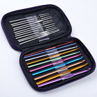 Multi Aluminum Plastic Bamboo Crochet Hooks Knitting Needles DIY Weave Yarn Set фото