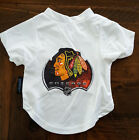 NEW CHICAGO BLACKHAWKS DOG PET PERFORMANCE T-SHIRT TEE ALL SIZES $10.95 USD on eBay