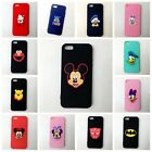 Cute Cartoon Mickey Super Hero Silicone Phone Cases Cover for IPhone 5/5s /SE
