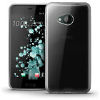 Glossy TPU Gel Case Skin for HTC U Play (2017) Bumper Cover + Screen Protector