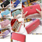 New Fashion Lady Women Long Card Holder Case Leather Clutch Wallet Purse Handbag