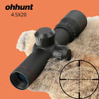 Ohhunt 4.5x20 P4 Reticle 1 inch Compact Hunting Optical Sight With Rings