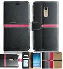 2017 Retro Book Flip Leather Cover Stand Wallet Protective Case Skin for Samsung