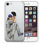 Claw Clayton Kershaw iPhone case for all iPhones, Hand Drawn Illustration