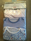 John Lewis 3 Pack Cute Design Babygrows Sizes Early Baby /3/6/9/12/18/24 mnths