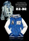 Marc Ecko Star Wars R2 D2 Protection Varsity Hooded Jacket R2D2 Hoody LIMITED $75.0 USD