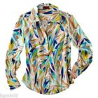 MISSONI FOR TARGET WOVEN SHIRT BLACK AND WHITE FLORAL BLUE COLORE XS S M L XL
