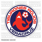 Tiburones Rojos Mexico Vinyl Sticker Decal Calcomania Color Die Cut Veracruz