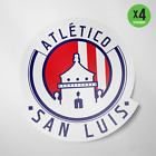 Atletico San Luis Mexico Retro Vinyl Sticker Decal Calcomania Liga MX Tuneros