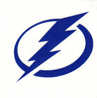REFLECTIVE Tampa Bay Lightning fire helmet decal sticker up to 12 inches $3.49 USD on eBay