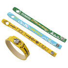 Anime One Piece Attack on Titan PU Leather Bangle Bracelet Cosplay Wristband