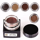 8 Color Waterproof Natural Long Lasting Eye Brow Pomade Liner Eyes Eyebrow Gel