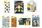 DESPICABLE ME - MINIONS Stationery/Sets (Pencil/Eraser/Ruler/Colouring/Gift/)