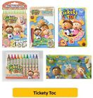 TICKETY TOC COLOURING & ART SETS (Arts/Stickers/Paint/Drawing)