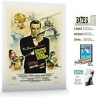 Movie Film Poster Print Sz6 Classic Action Secret Agent From Russia With Love £16.0 GBP