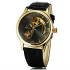 Fashion Leather Strap Wristwatches Luxury Dress Mechanical Watches Men's Casual