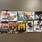 Lot of 10 PLAYSTATION 3,  360,  PS2, PSP,  & GC Cover Art! *USED*