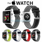 Replacement Silicone Sports Bracelet Strap Buckle Clasp For Apple Watch Band 2/1